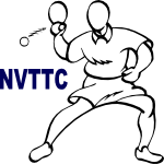 Logo of Northern Virginia Table Tennis Club (NVTTC)
